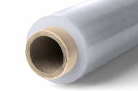 Stretch wrap with polymer-processing-aids